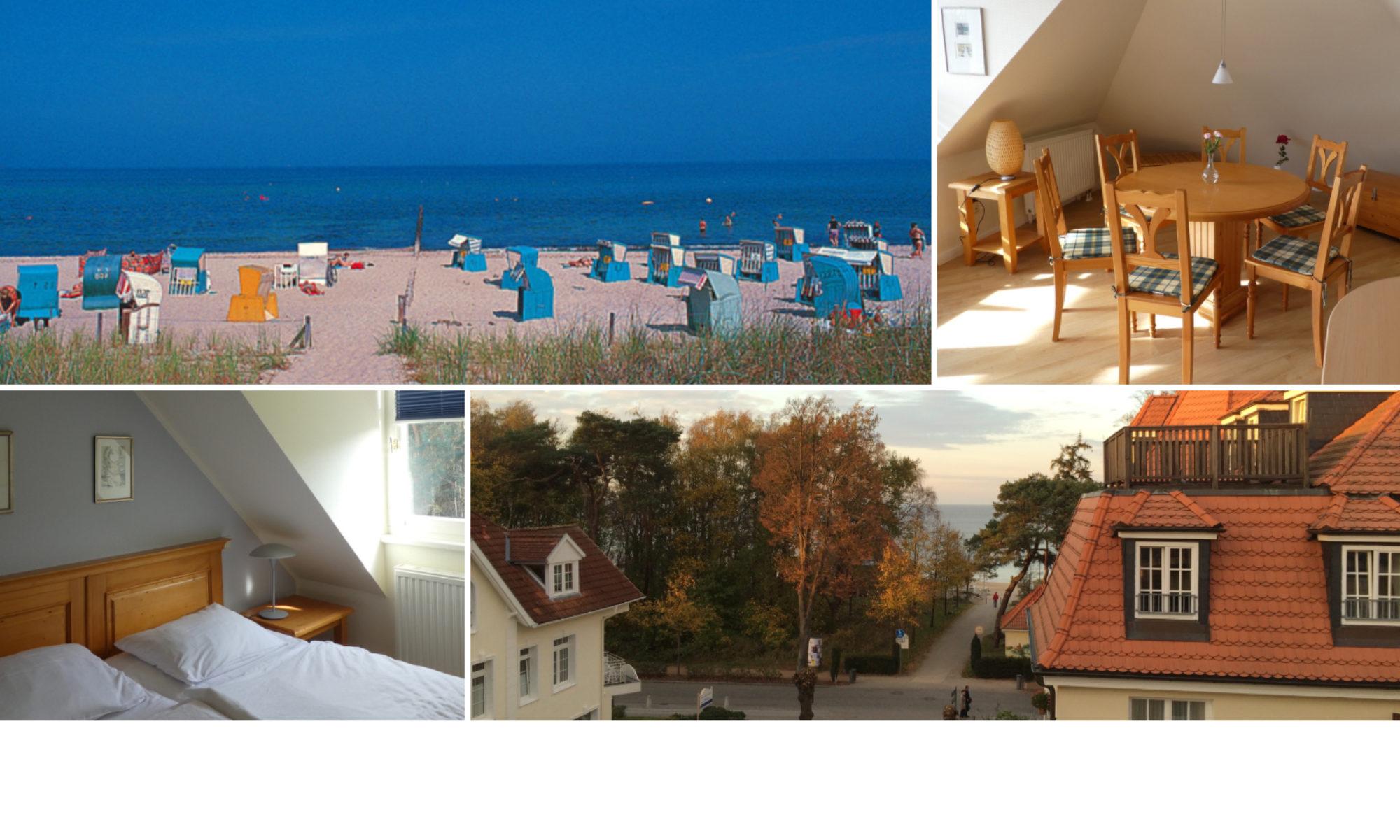 Die feine Adresse in Kühlungsborn an der Ostsee...